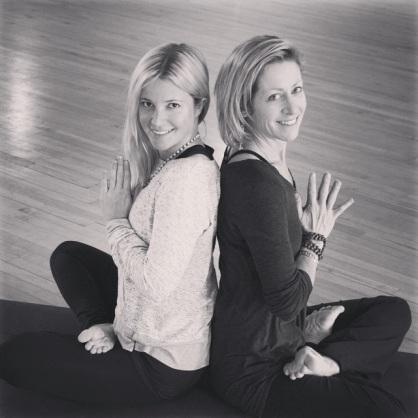Kristen (left) & Liz