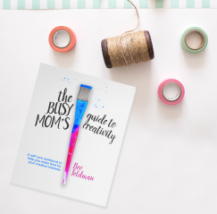 The newly redesigned Busy Moms Guide to Creativity