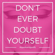 Don't ever!